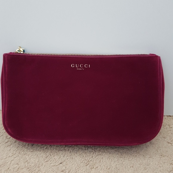 983dd45cca20db Gucci Bags | Velvet Makeup Bag New | Poshmark